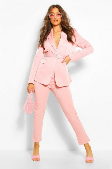 Blush Tapered Tailored Trouser