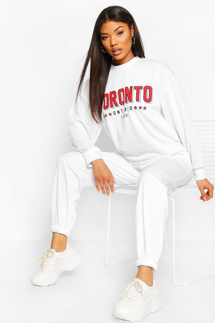 White Oversized Sweater: