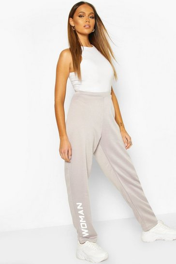 Grey Woman Slouchy Jogger