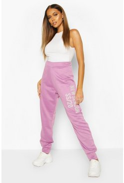 Purple New Season Slouchy Jogger
