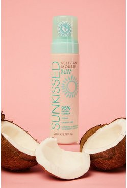 Gold Sunkissed Vegan Tan Mousse Ultra Dark 200ml