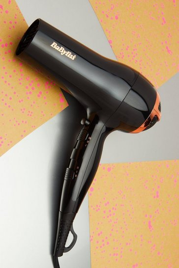 Black Babyliss Rose Lustre 2400 Hair Dryer
