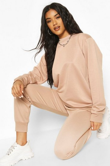 Stone Basic Oversized Sweat