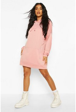Blush The Perfect Oversized Hooded Sweat Dress