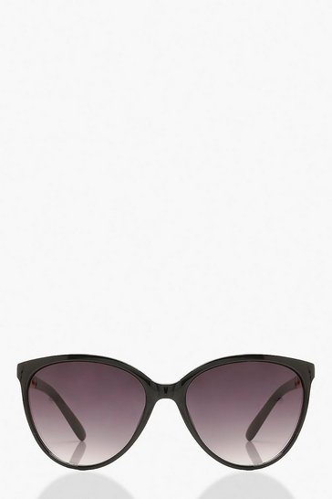 Black Chain Detail Sunglasses