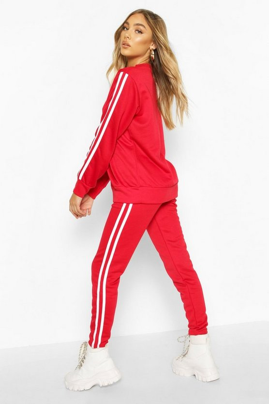 Side Stripe Jogger Set