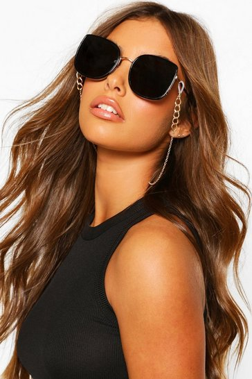 Gold Chain Detail Sunglasses Chain