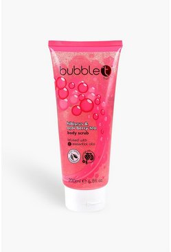Pink Bubble T Shower Body Scrub Hibiscus & Acai