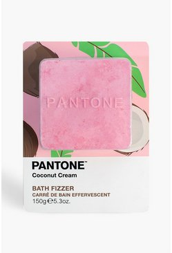 Womens Pink Bubble T Pantone Bath Fizzer Coconut Cream