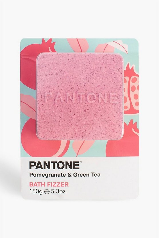 Pink Bubble T Pantone Bath Fizzer Pomegranate