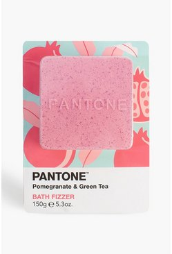 Womens Pink Bubble T Pantone Bath Fizzer Pomegranate