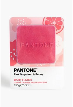 Womens Bubble T Pantone Bath Fizzer Pink Grapefruit
