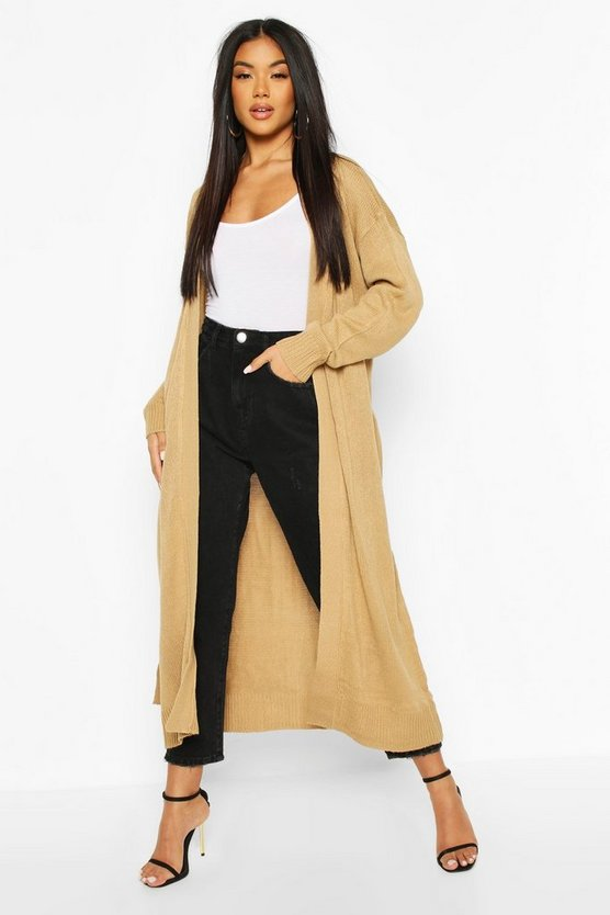 Maxi Belted Cardigan