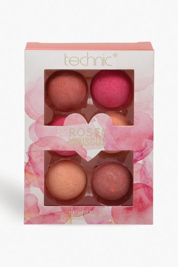 Multi Technic Valentines Bath Fizzer Set