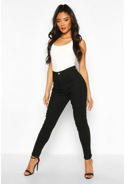 Black Butt Shaper High Rise Disco Jegging