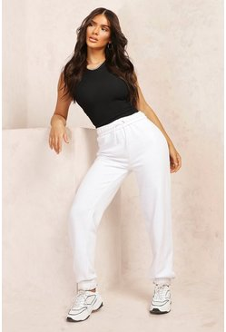 White Mix & Match Edition Rollover Jogger