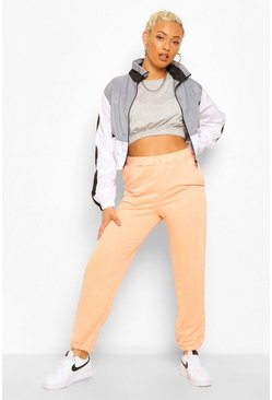 Peach Basic Boyfriend Loopback Jogger