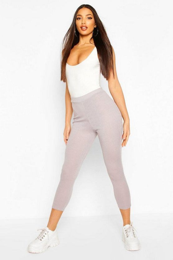 Rib Knit Legging