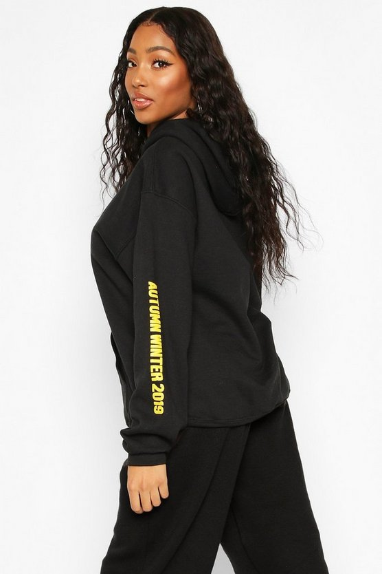 Woman A/W Oversized Hoodie