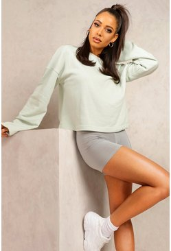 Sage Mix & Match Edition Cropped Sweat