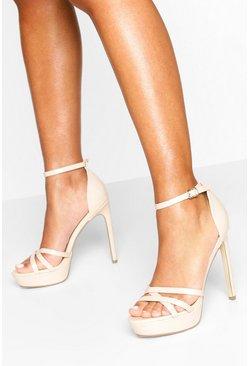 Platform Strappy Heel Sandals