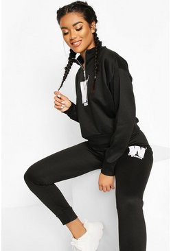 Black Fit Womans Joggers