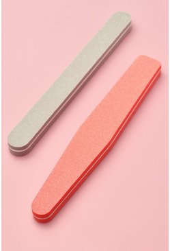 Pink 2 Piece Nail File Set