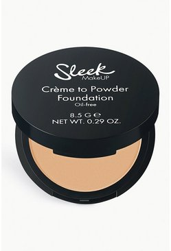 Sleek Makeup Creme To Powder Foundation 03, Beige, Donna