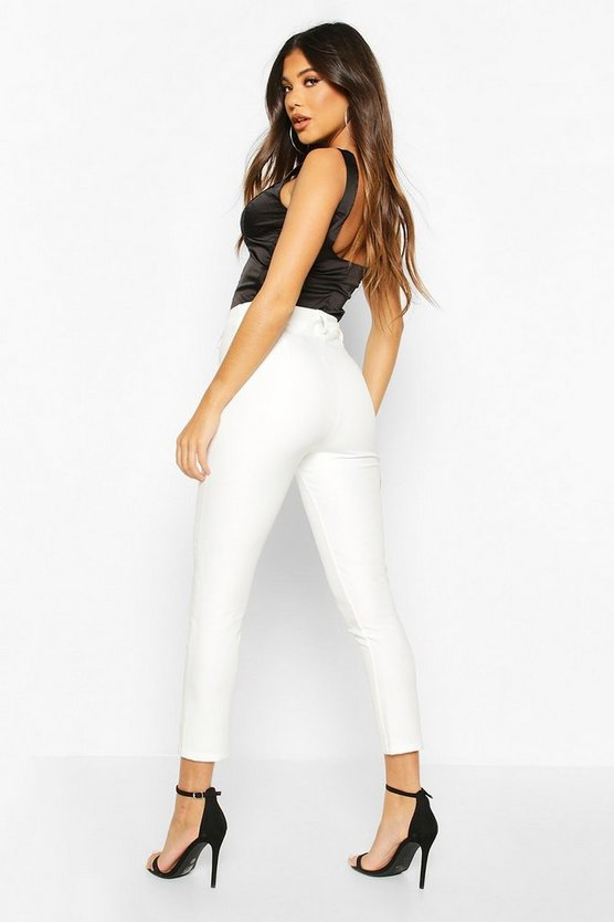 Seam Detail Tailored Trouser