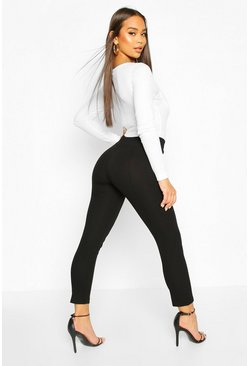 Skinny Stretch Tailored Trouser, Black