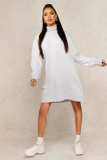 Ice Mix & Match Edition Roll Neck Sweat Dress