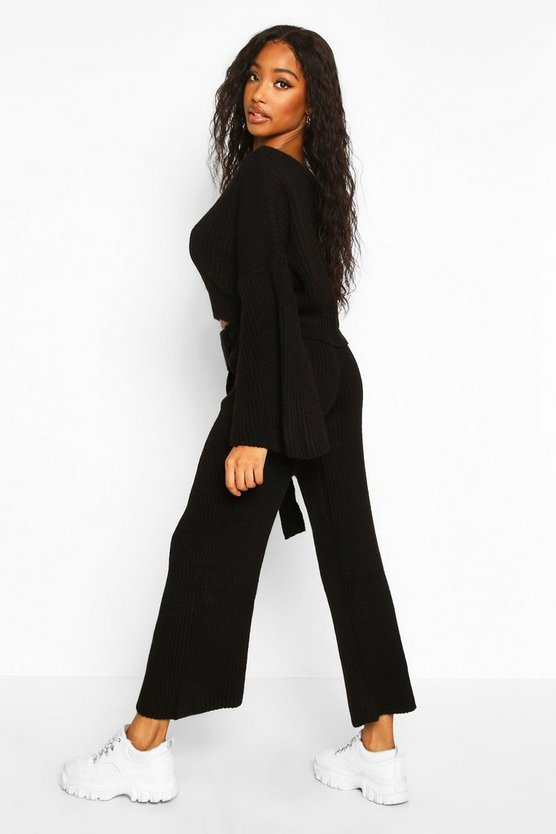 Knitted Trouser & Jumper Co-ord