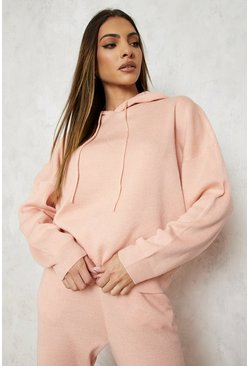 Blush Hoody Knitted Lounge Set