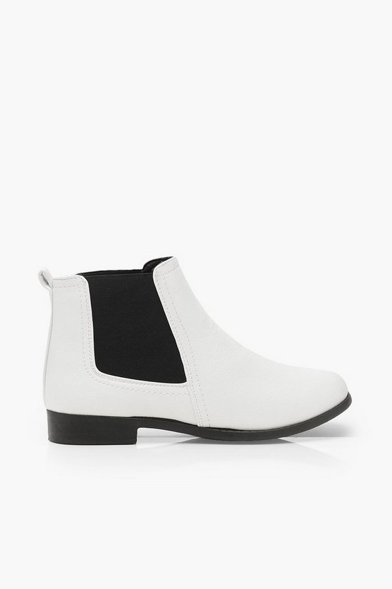 Wide Fit Pull On Chelsea Boots