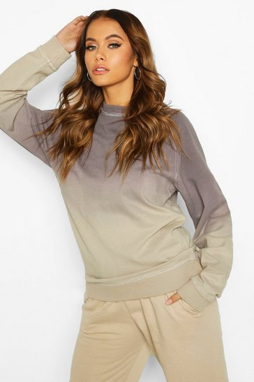 Grey Oversized Boyfriend Sweat