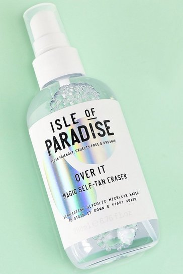 Womens Clear Isle Of Paradise Over It
