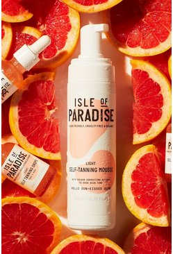 Womens Tan Isle Of Paradise Self Tanning Mousse Light