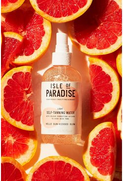 Womens Clear Isle Of Paradise Self Tanning Water Light