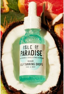 Clear Isle Of Paradise Self Tanning Drops Medium