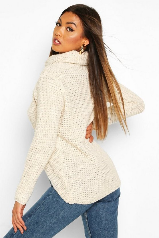 Wrap Front Button Cardigan