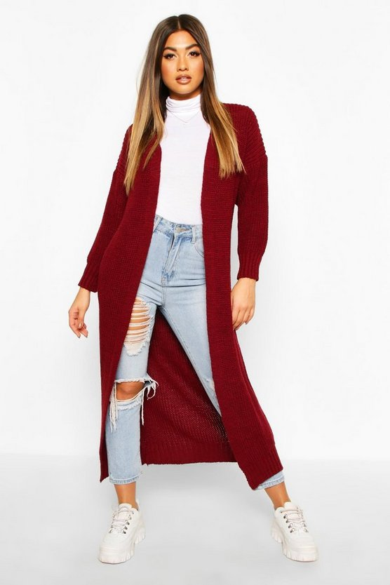 Knitted Maxi Cardigan