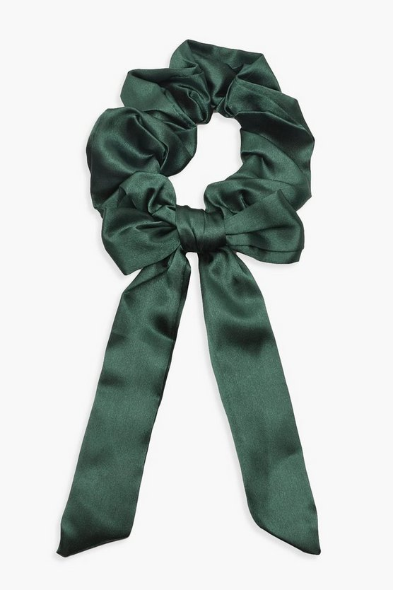 Bow Detail Hair Scrunchie