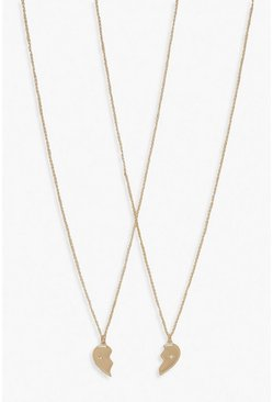 Best Friend Necklace, Gold
