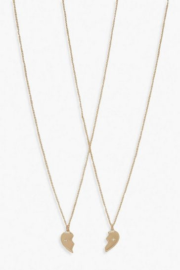 Gold Best Friend Necklace