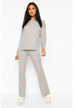 Jumper And Trouser Set, Grey