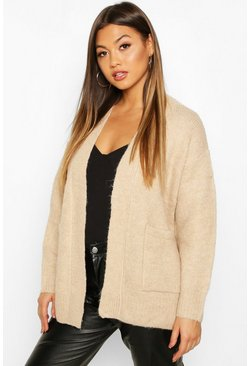 Womens Biscuit Edge To Edge Cardigan