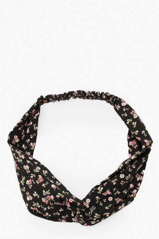 Ditsy Floral Twist Knot Headband