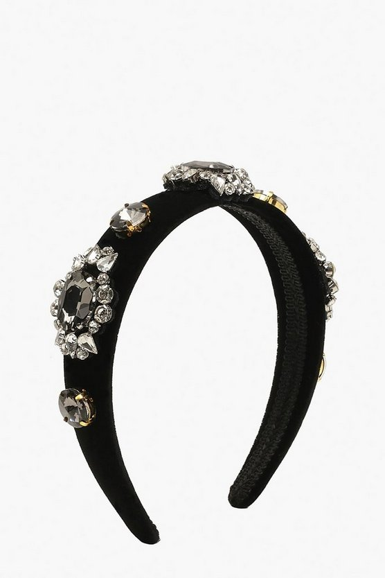 Premium Diamante & Gem Statement Head Band