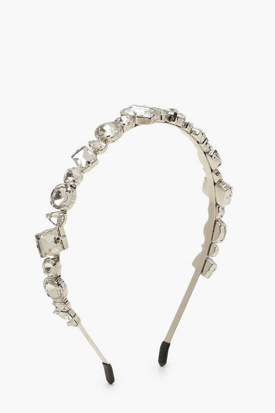 Mixed Diamante Statement Head Band