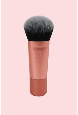 Real Techniques Mini Expert Face Brush, Pink, MUJER